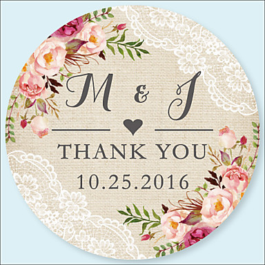 Wedding Stickers Labels Tags 48 Pcs Circular Envelope Sticker All Seasons 6834963 2018 6 99