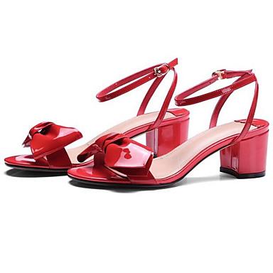 Bottier Femme Eté Sandales Noir Rouge 06838070 Nappa Chaussures Cuir Talon Confort Amande OTwr0Oq