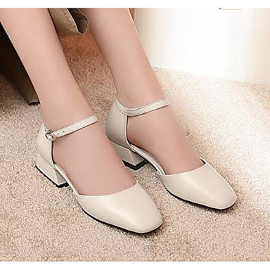 Bottier à Chaussures Cuir Confort 06795325 Printemps Chaussures Talon Femme Automne Beige Talons Nappa Noir xZfTqvWw0