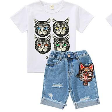 Dijete koje je tek prohodalo Dječaci Osnovni Jednobojni Kratkih rukava Komplet odjeće