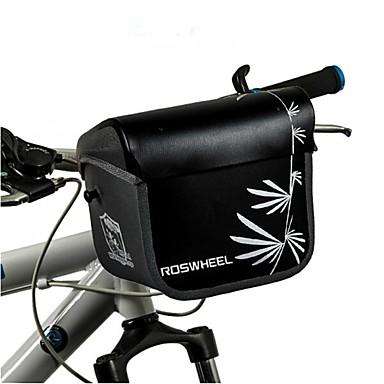 3 L Bike Handlebar Bag Shoulder Bag Rain Waterproof Wearable