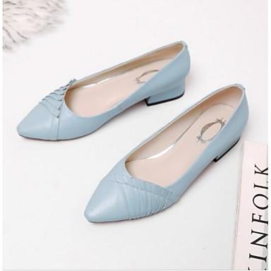 Ballerines Cuir Noir Eté Bottier Femme Chaussures fermé Bout Confort Bleu Beige Talon Nappa 06797550 qAFwXx5T