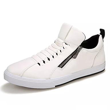 Muškarci PU Jesen Udobne cipele Sneakers Zlato / Obala / Crn