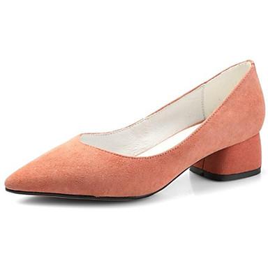 Printemps Talon Confort Talons Chaussures Rose 06831899 à Daim Bottier Chaussures Noir Femme Eq0gRR
