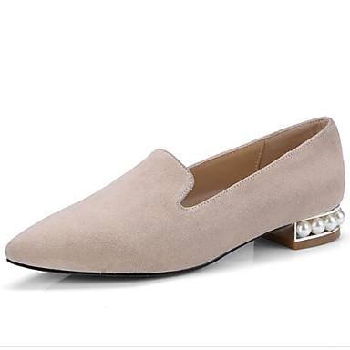 06835457 Eté Mocassins Femme mouton Talon fermé et Printemps Bout de Rose Noir Chaussures Plat Confort Peau Chaussons D6148 Daim Amande 4qqHx1