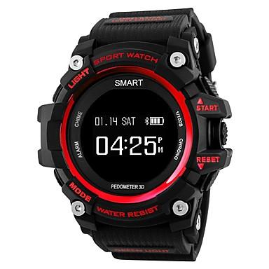 Χαμηλού Κόστους Έξυπνα ηλεκτρονικά είδη-iPS T1 Έξυπνο ρολόι Android iOS Bluetooth Αδιάβροχη Συσκευή Παρακολούθησης Καρδιακού Παλμού Μεγάλη Αναμονή Ημερολόγιο Άσκησης Εντοπισμός απόστασης / Βηματόμετρο / Παρακολούθηση Ύπνου / Ξυπνητήρι