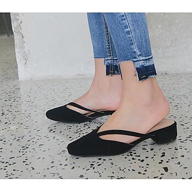 Mules Confort Bottier Noir 06797305 Sabot Chaussures amp; Blanc Talon Nappa Femme Printemps Cuir Iq0zfHx