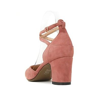 Bottier Daim Chaussures Nappa Confort Vin à Talons 06831120 Femme Escarpin Cuir Talon Basique Eté Chaussures Rose 5nqxTR7