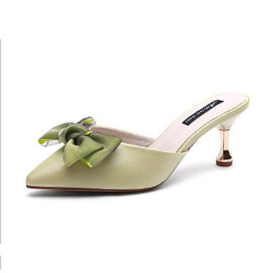06810379 Gris Sandales Chaussures Aiguille Satin Confort Vert Femme Talon Eté Violet x0vIwq