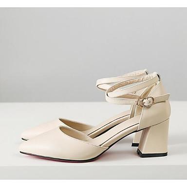 Chaussures Noir Femme Cuir Escarpin Talons Confort Amande Printemps à 06797577 Basique Bottier Chaussures Nappa Talon dw7HqRw