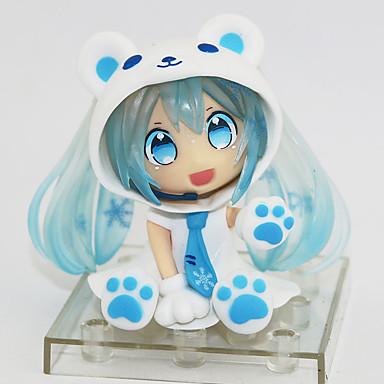 Anime Actionfigurer Inspireret af Cosplay Snow Miku PVC 7 cm CM Model Legetøj Dukke Legetøj