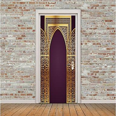 Adesivi decorativi da parete adesivi per porte adesivi aereo da parete religioso e - Adesivi decorativi per porte ...