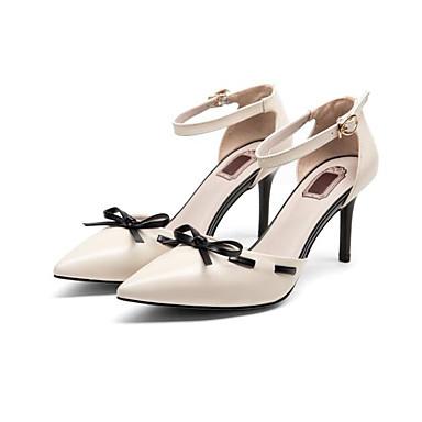 Rose Escarpin Basique Cuir Printemps clair Chaussures 06797170 Femme Noir dragée Chaussures Nappa Beige Talons à Aiguille Confort Talon U6XYwqY