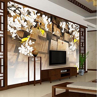 levne Tapety-krásné umění velká květinová mapa přizpůsobená stěna pokrývající 3D nástěnná tapeta vhodná pro jídelnu ložnici