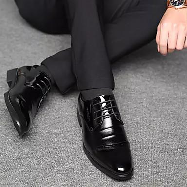 Homme Chaussures Formal Formal Formal Polyuréthane Automne Oxfords Noir c3b5f2
