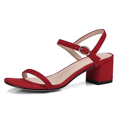 Talon Rose Confort Sandales Chaussures été Rouge Femme 06841157 Bottier Daim Bleu Printemps royal wqAYzAIx