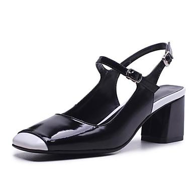 Escarpin Cuir Nappa Talon Bottier Rose Chaussures Basique Chaussures 06850323 Printemps Marron Eté Confort Talons Femme à Noir 1qYURwU