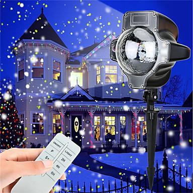 abordables Éclairage Extérieur-KWB 1pc 5 W Projecteurs LED Imperméable / Intensité Réglable / Décorative Blanc / Plusieurs Couleurs 100-240 V Eclairage Extérieur / Cour / Jardin 4 Perles LED