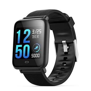 olcso Aktivitásmérő pántok, csíptetők, karkötők-q9 vízálló sport smartwatch az android ios bluetooth szívverés monitor vérnyomásmérés érintőképernyő kalória égett gyakorlat rekord időmérő stopperóra lépésszámláló