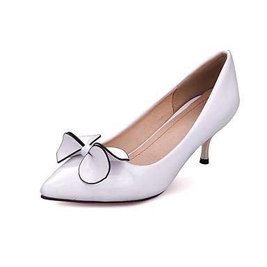 Noir Talon Aiguille Chaussures Blanc 06864604 Femme Basique Escarpin Polyuréthane Eté Chaussures Rouge à Talons Pzz8Hqnwx