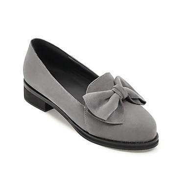 Daim 06864972 Noir été Beige Ballerines Printemps Confort Femme Bottier Gris Talon Chaussures An1xP5wq5