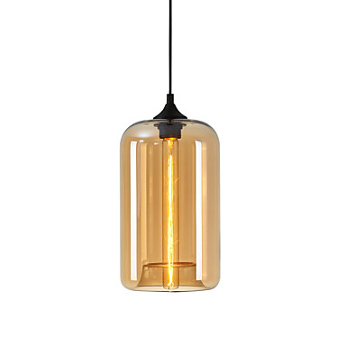 Cirkularno / Glob / Linear Privjesak Svjetla Ambient Light Glass Glass 110-120V / 220-240V