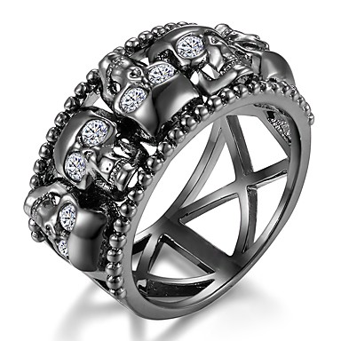 Creative Personality Cute Hollow Skeleton Ring Rock Style Special Party Jewelry Holiday Gifts Jewelry & Accessories