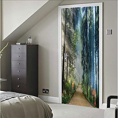 Decorative Wall Stickers - 3D Wall Stickers Still Life / 3D Bedroom / Indoor