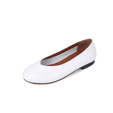 Noir Plat Ballerines Ballerines Ballerines Chaussures Blanc Jaune Talon été Femme Cuir 6abd92