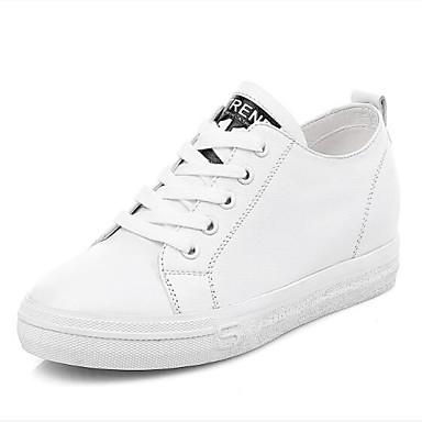 Noir fermé Basket Chaussures 06850040 Confort Talon Eté Printemps Femme Bout Plat Nappa Blanc Cuir x7Snwvn6q