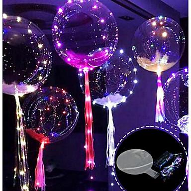 povoljno Holiday Decorations-3m 30led balon s vodio strip svjetleći vodili baloni za vjenčanje dekoracije rođendanskih zabava christmas new year