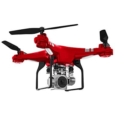 povoljno Dronovi i RC-RC Dron SH5HD 4 Kanala 6 OS 2.4G S HD kamerom 0.3MP RC quadcopter FPV / Povratak S Jednom Tipkom / Auto-Polijetanja RC Quadcopter / Daljinski Upravljač / Kamera / Flip Od 360° U Letu / Lebdjeti