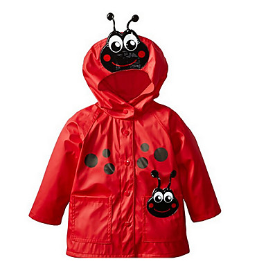 5722950fa72 Χαμηλού Κόστους Μπουφάν και παλτό για κορίτσια-Παιδιά Κοριτσίστικα Βασικό  Καθημερινά Μονόχρωμο / Πουά Patchwork