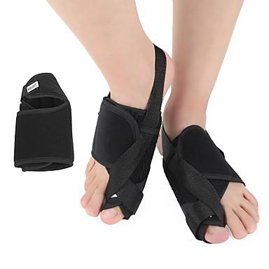 baratos Palmilhas-2pçs ortopédicas Tecido Peito do Pé Primavera Unisexo Preto