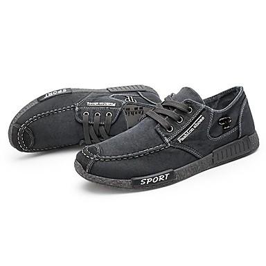 baratos Super Ofertas-Homens Sapatos Confortáveis Jeans Primavera / Outono Tênis Caminhada Cinzento / Azul / EU40