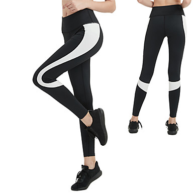 Women s Elastic Waistband Yoga Pants - White 3506d9bcd521