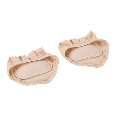 abordables Accessoires pour Chaussures-1 paire orthèses Semelle Intérieures Tissu Avant du Pied Printemps Unisexe Noir / Chair