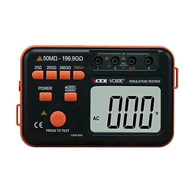 voordelige Test-, meet- & inspectieapparatuur-1 pcs Kunststoffen Weerstand Capaciteit Tester Meten VICTOR