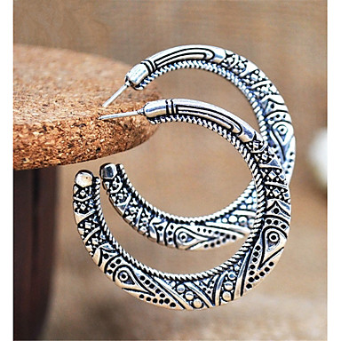 cd68ded0e Women's Retro Sculpture Stud Earrings Earrings Earrings Totem Series Ladies  Rustic / Lodge Korean Fashion Jewelry Gold / Silver For Holiday Club 1 Pair