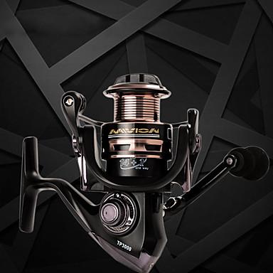 Moulinet pour pêche Moulinet spinnerbait 5.5:1 Braquet+15 Roulements à billes Orientation à la main Echangeable Pêche d'appât / Pêche au leurre