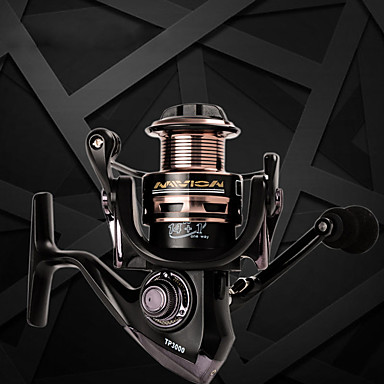 Fishing Reels بكرة دوارة 5.5:1 نسبة أعداد التروس والاسنان+15 الكرة كراسى توجيه اليد قابلة تغيير طعم الاسماك / إغراء الصيد