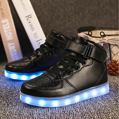 c7b461a3984 Αγορίστικα Παπούτσια PU Φθινόπωρο Φωτιζόμενα παπούτσια Αθλητικά Παπούτσια  LED για Λευκό / Μαύρο / Κόκκινο