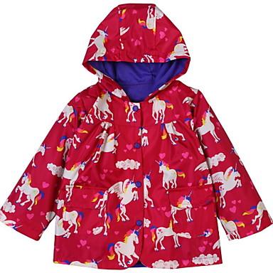 4daeac5bc42 Παιδιά Κοριτσίστικα Βασικό Φλοράλ Μακρυμάνικο Κανονικό Πολυεστέρας Κοστούμι  & Σακάκι Ρουμπίνι