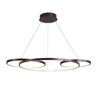 ZHISHU Cirkularno Lusteri Ambient Light Slikano završi Metal Kreativan 110-120V / 220-240V Meleg fehér / Bijela