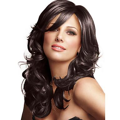 povoljno Perike i ekstenzije-Ljudski kose bez kaplama Ljudska kosa Wavy Stil Capless Perika
