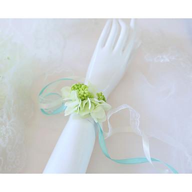 Cvijeće za vjenčanje Wrist Corsage Vjenčanje / Svadba Silk Like Satin / Čipka / Platno 0-10 cm