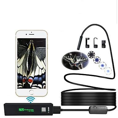 voordelige Microscopen & Endoscopen-ypc 1200p wifi endoscoop 1 meter snoer waterproof apple endoscoop ios draadloos