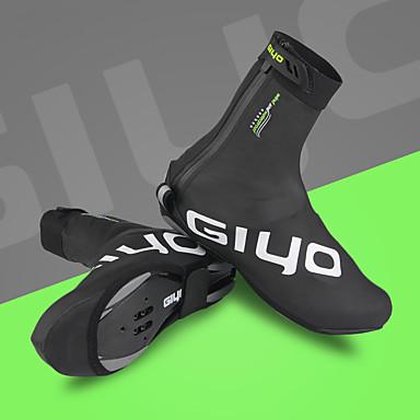 GIYO Dla dorosłych Pokrowce na buty rowerowe Wodoodporny Amortyzacja Wentylacja Kolarstwo / Rower Obuwie rowerowe Czarny Obuwie rowerowe