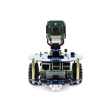 waveshare alphabot2-pi (en) alfaabot2 robota za izgradnju kit za maline pi 3 model b