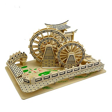 Logic & Puzzle Toy Wooden Puzzle Landscape Movie Character Famous buildings Simulation Hand-made Parent-Child Interaction Wood-plastic board Wooden 1 pcs Teen Adults' Children's All Toy Gift